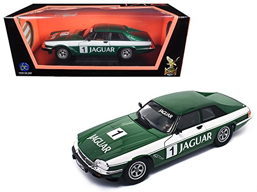 Maisto 1975 Jaguar XJS Coupe Racing Green #1 1/18 Model Car by Road Signature