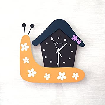 Komo silencioso Moderno Decoración Adorno para Hogar Reloj de Pared Creativo gráfico Mural Moderna casa Dormitorio Reloj Silencio decoración de la Mesa el ...