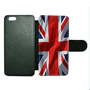 Case Fun Case Fun Union Jack Flag Faux Leather Wallet Case Cover for Apple iPhone 6 4.7 inch