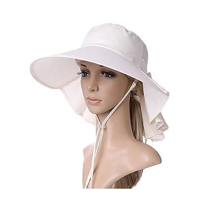 8029269eb16 Amazon.com  LJJL Hat Female Summer Fisherman Hat UV Protection Sun ...