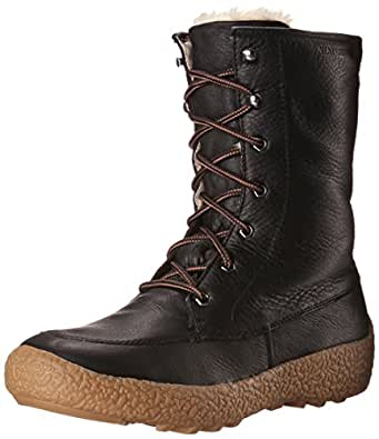 Cougar Women's Cheyenne Waterproof Lace Up Winter Boot Black 8 M US