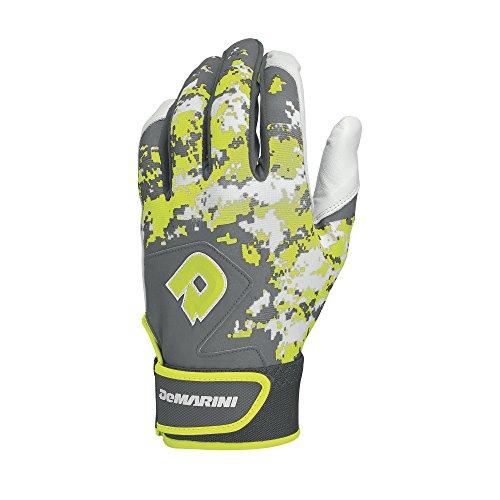 DeMarini Digi Camo II Youth Batting Gloves, Optic, Large, Pair