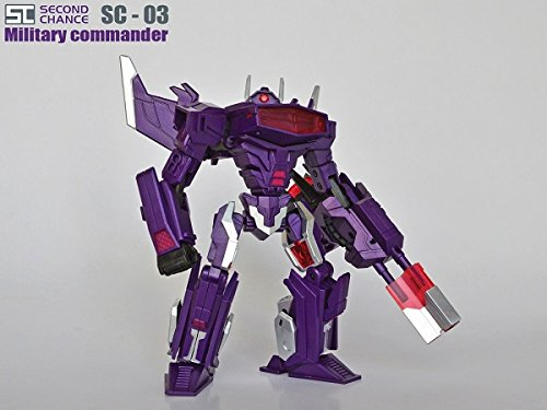 Transformers Second Chance SC-03 WFC/FOC shockwave