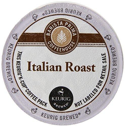 Barista Prima Coffeehouse Coffee Keurig K-Cups Italian Roast 72 Count [並行輸入品]   B07N4N8D94