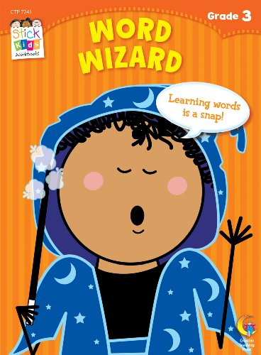 Word Wizard Stick Kids Workbook, Grade 3 (Stick Kids Workbooks)