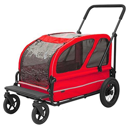 AirBuggy for Pet 에어버기(에어 배기(baggy) 애완캐리어/유모차용품 carriage 세트 베리 레드