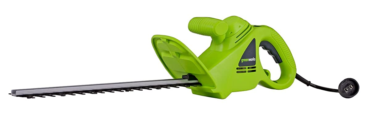 Greenworks 18-Inch 2.7 Amp Corded Hedge Trimmer 22102