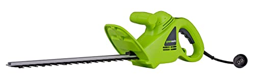 8. GreenWorks 22102 2.7 Amp 18-Inch Corded Electric Hedger