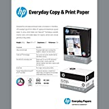 HP Paper, Everyday Copy and Print Poly Wrap, 20lb, 8.5 x 11, Letter, 92 Bright, 3000 Sheets / 4 Bulk Ream Case (200030C) Made In The USA