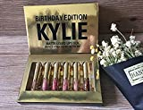 Beauty - 100% real Birthday Kylie Jenner Kylie Edition Birthday kit Matte Liquid Lipstick | 6 Mini set