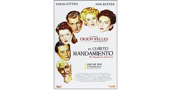 El cuarto mandamiento / The Magnificent Ambersons: Amazon.es ...