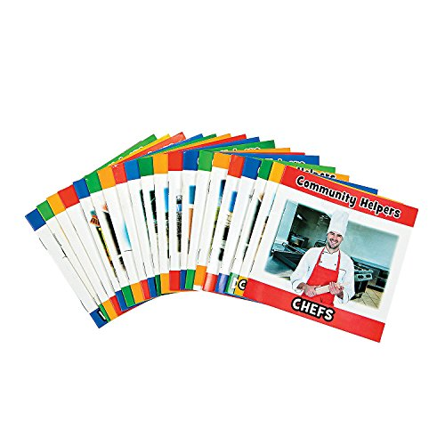 Community Helpers Book Set - 20 Early Reading Booklets for PK-2 or SPED about Different Community Workers ()