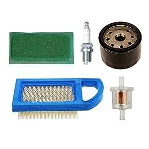 HIFROM aire Pre filtro con filtro de aceite de 492932S 691035Filtro de combustible bujías para motores reemplazar Briggs & Stratton 794421697152