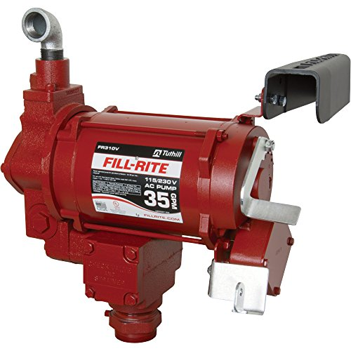 Fill-Rite FR310VN High Flow AC Pump, 115/230V, 35 GPM at Outlet ()