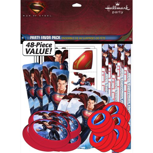 Superman Birthday Party Favor -