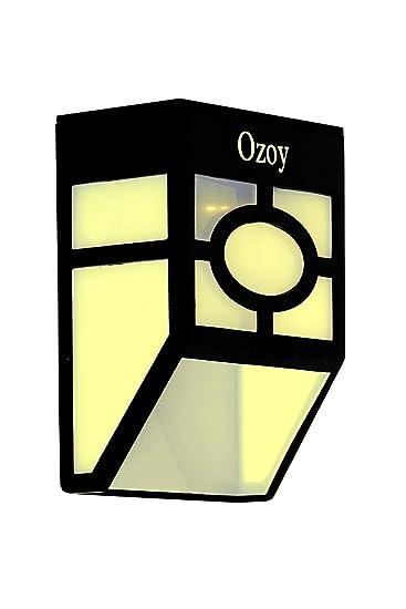 Yozo Solar Light Waterproof Solar Powered LED Garden Light Warm Light Outdoor Emergency Wall Lamp (Waterproof and Weather Resistance) from Yozo