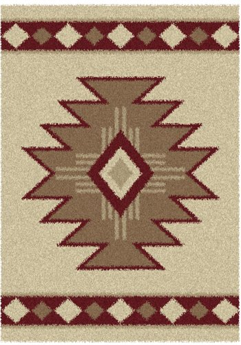 Aurora Southwest Icon (SOUTHWEST ICON V Rug from the AURORA Collection (94 x 126) by United)