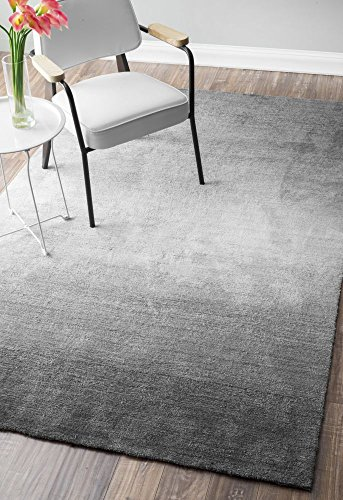 - nuLOOM 200AWVE18A-76096 Hand Tufted Ombre Area Rug, 7' 6