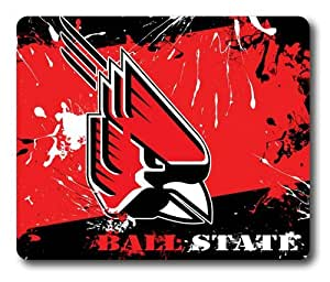 Ball State Cardinals Rectangle Mouse Pad by eeMuse