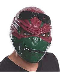Rubie's Costume Men's Teenage Mutant Ninja Turtles Movie Raphael Adult 3/4 Mask