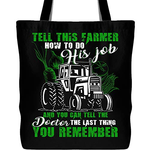 Tell this Farmer How To Do His Job