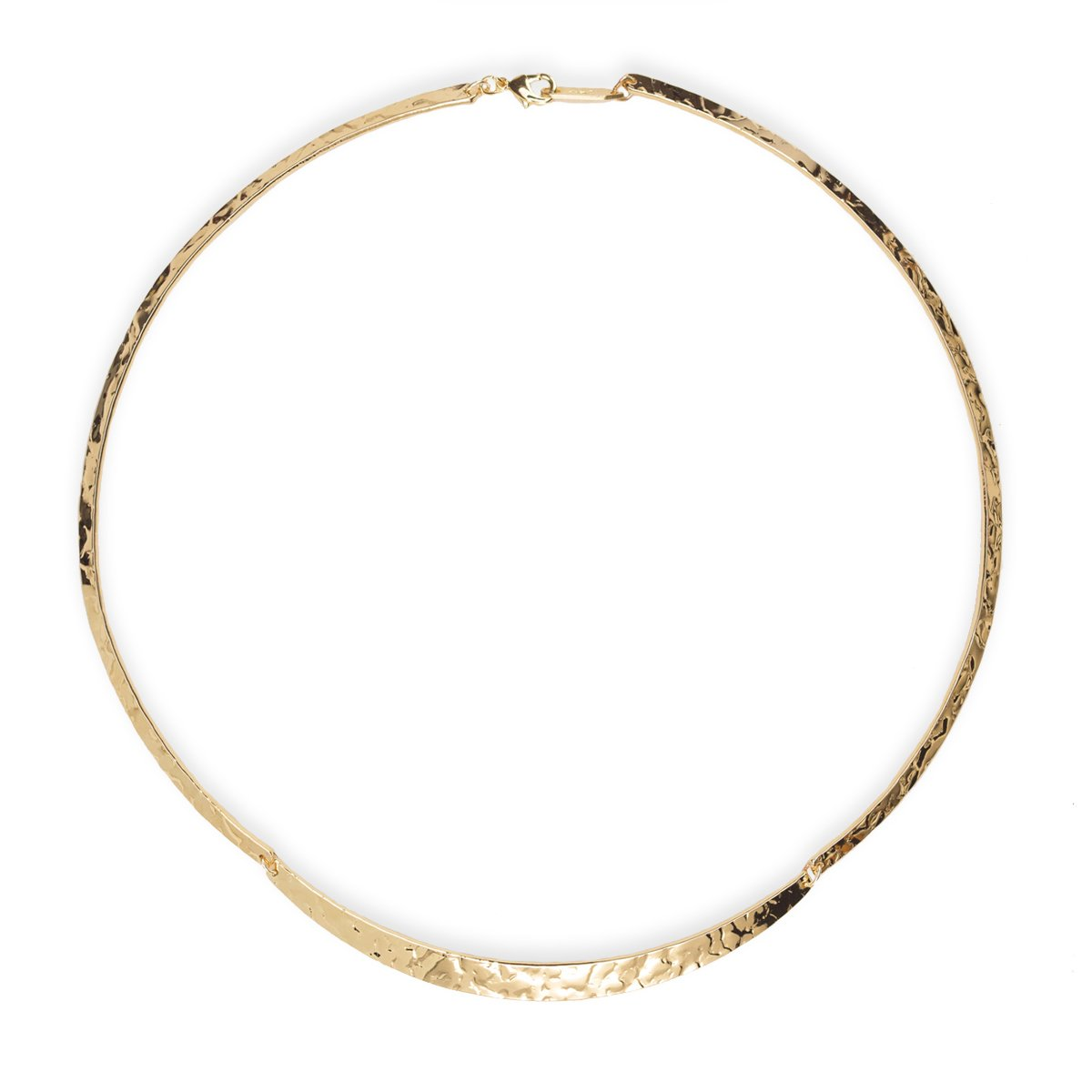 Holly Yashi Gemma Necklace, Made in California (Gold-Plated-Base)