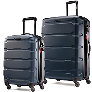 Samsonite Omni PC 2 Piece Set of 20 and 28 Spinner Teal