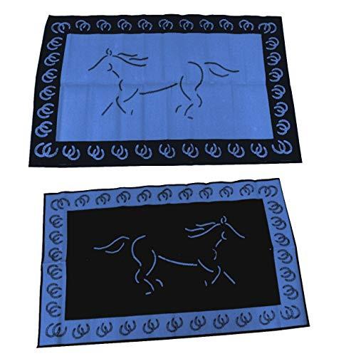 - Mats By Design Running Horse Reversible Mat 6X10