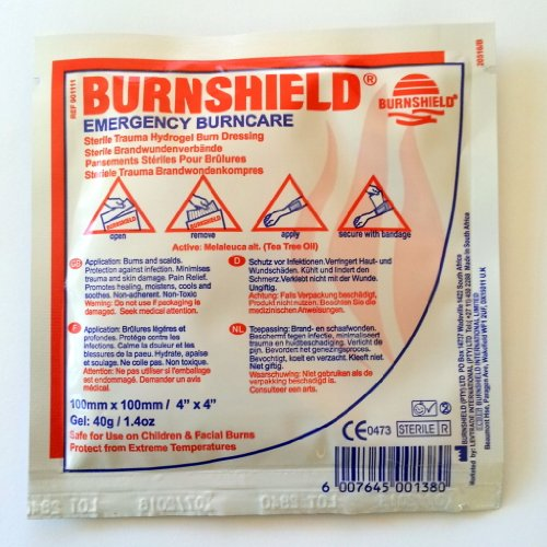 burnshield hydrogel burn dressing - 4