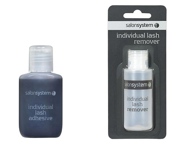 49c2bb9fd57 Salon System Individual Lash Adhesive and Individual Lash Remover 50ml by  Salon System: Amazon.co.uk: Beauty