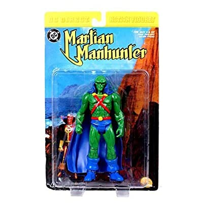 Martian Manhunter Action Figure (NM Package) by DC Comics: Toys & Games