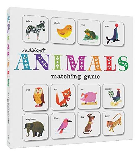 - Alain Grée Animals Matching Game