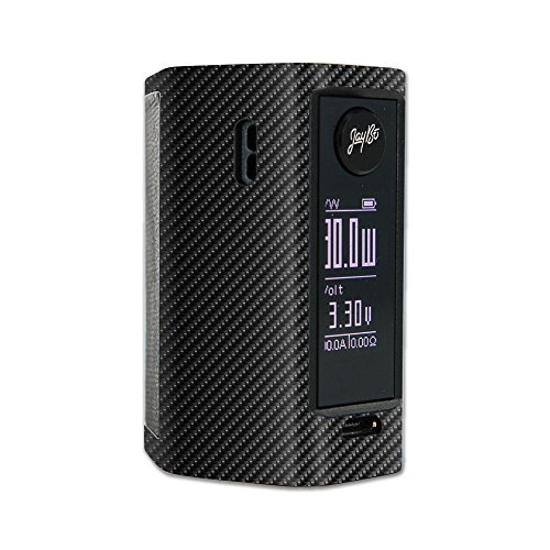 MightySkins Skin for Wismec Reuleaux RX Mini – Carbon Fiber | Protective, Durable, and Unique Vinyl Decal wrap Cover | Easy to Apply, Remove, and Change Styles | Made in The USA from MightySkins