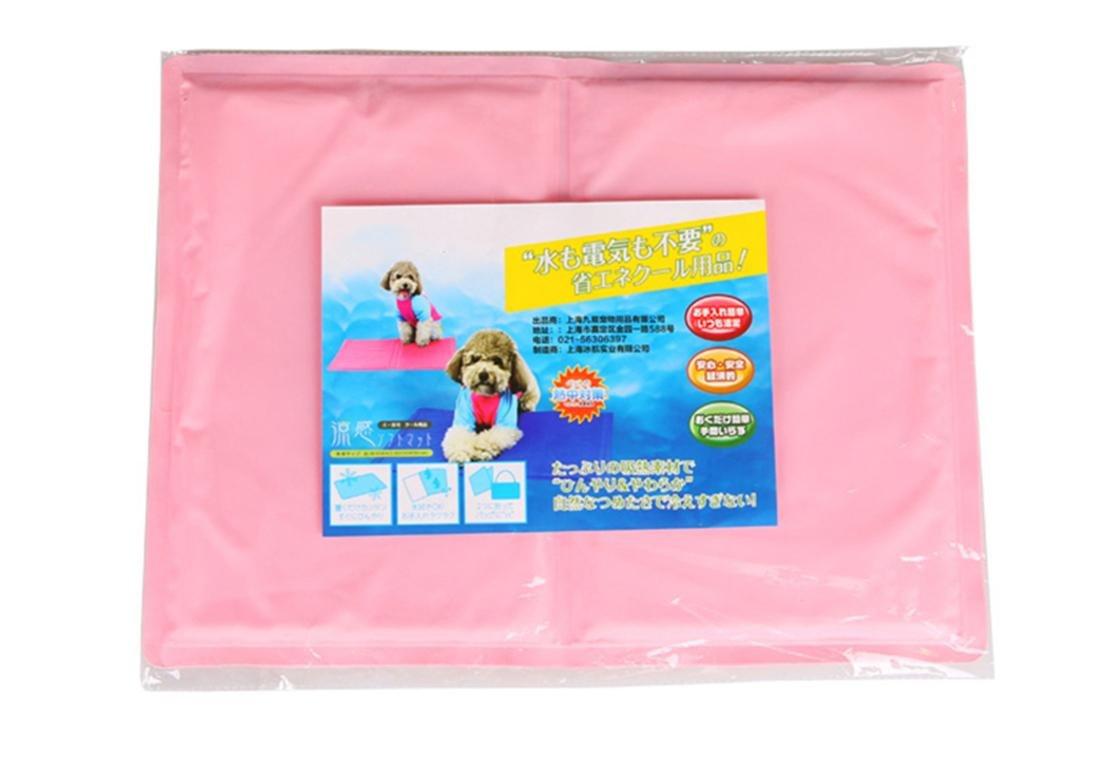 Hund Katze Eis Matte Bett, geben Sie einen kühlen Sommer, einfach zu reinigen, dauerhaft Komfortable resistent Kratzer und Biss