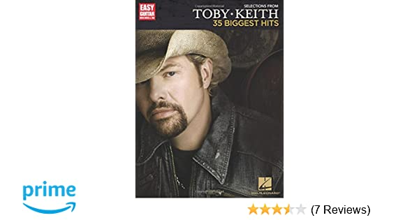 amazon com selections from toby keith 35 biggest hits easy