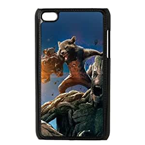 iPod Touch 4 Case Black galaxy of the guardians art illust GY9151765