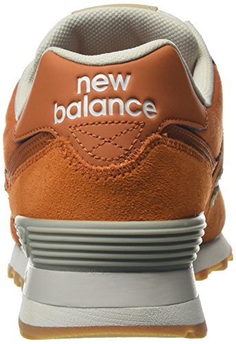 Orange Uomo ML574OU Arancione Balance Sneaker New CxXqTPRwx