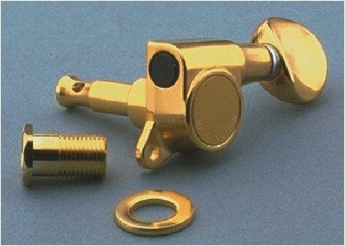 Gotoh Mini Tuning Keys 6-inline w/Screws Gold Allparts TK-0760-002