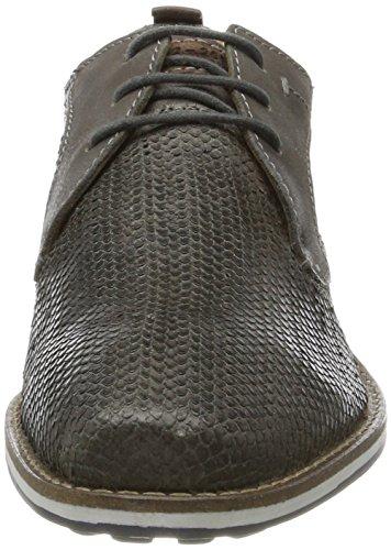 Bugatti Herren 322403011900 Derbys Grau (Grey)