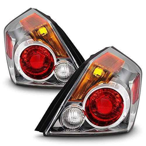 ACANII - For 2007-2012 Nissan Altima 4-Door Sedan Tail Lights Rear Brake Lamps Replacement OE Driver & Passenger Side