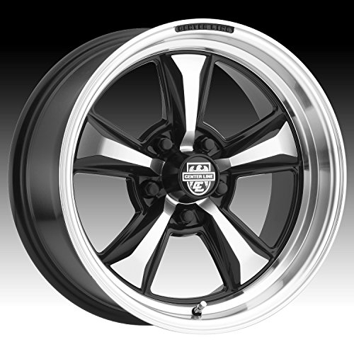 Centerline 635MB MM6 17X8 Mirror Machined with Gloss Black Accents Forged Wheels 5X4.50 Bolt Pattern