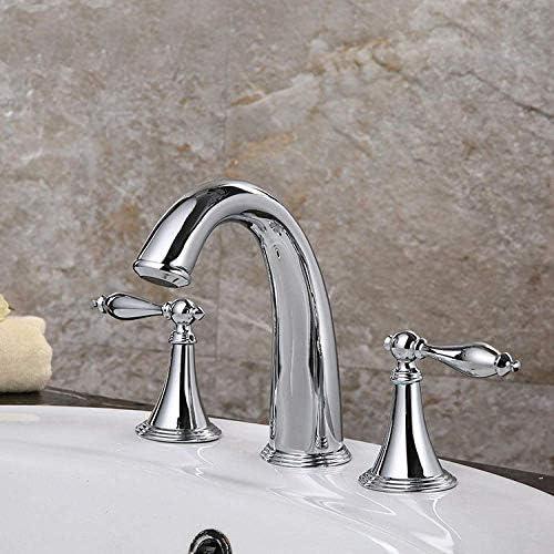 Yadianna バスルームのシンクは、スロット付き浴室の洗面台のシンクホットコールドタップミキサー流域の真鍮シンクミキサータップ非震とう浴室蛇口の魔法の蛇口キッチン流域の蛇口をタップ