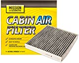 Premium Cabin Air Filter for Many Honda and Acura Models (Activated Carbon)