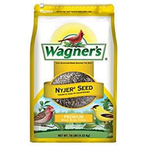 Wagner's 62050 Nyjer Seed Bird Food, 10-Pound Bag 2