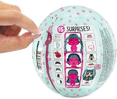 L.O.L. Surprise! Sammelpuppen für Mädchen - Mit 15 Überraschungen und verschiedenen Frisuren - #Hairvibes Dolls