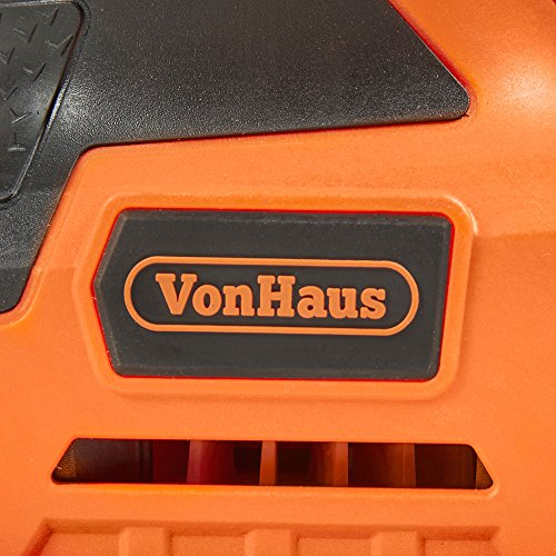 VonHaus 2.2 Amp 1/4 Sheet Palm Sander Kit with 15000 RPM, Fast Clamping System, Dust Collector and 5 Sandpaper Sheets - Ideal for Detailed Sanding by VonHaus (Image #7)