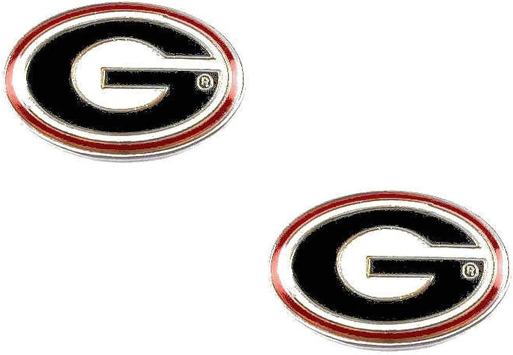 NCAA Georgia Bulldogs Team Post Earrings