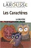 Les Caracteres, Jean De La Bruyere, 2035882486