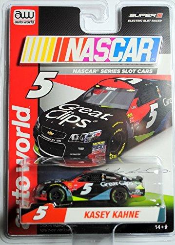 Slot Car Racing Nascar (AW SC324 NASCAR #5 KASEY KAHNE 2017 CHEVY SS Electric Slot Car NEW!)
