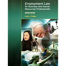 Employment Law for Business and Human Resources Professionals Second Edition by Kathryn J. Filsinger (2010-05-04)